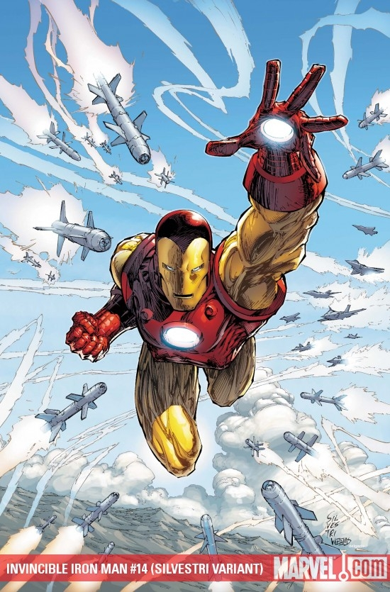 INVINCIBLE IRON MAN #14 (SILVESTRI VARIANT)