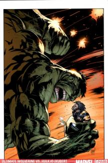 Ultimate Wolverine Vs. Hulk (2005) #3 (KUBERT VARIANT (1 FOR 15))