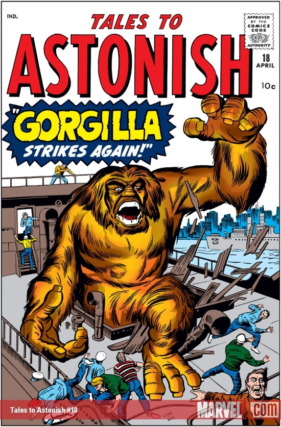 Tales to Astonish #18