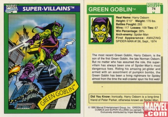 Green Goblin, Card #74