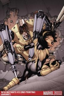 New Mutants (2009) #12 (2ND PRINTING VARIANT)