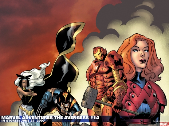 Marvel Adventures the Avengers (2006) #14 Wallpaper