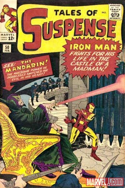 TALES OF SUSPENSE #50 cover