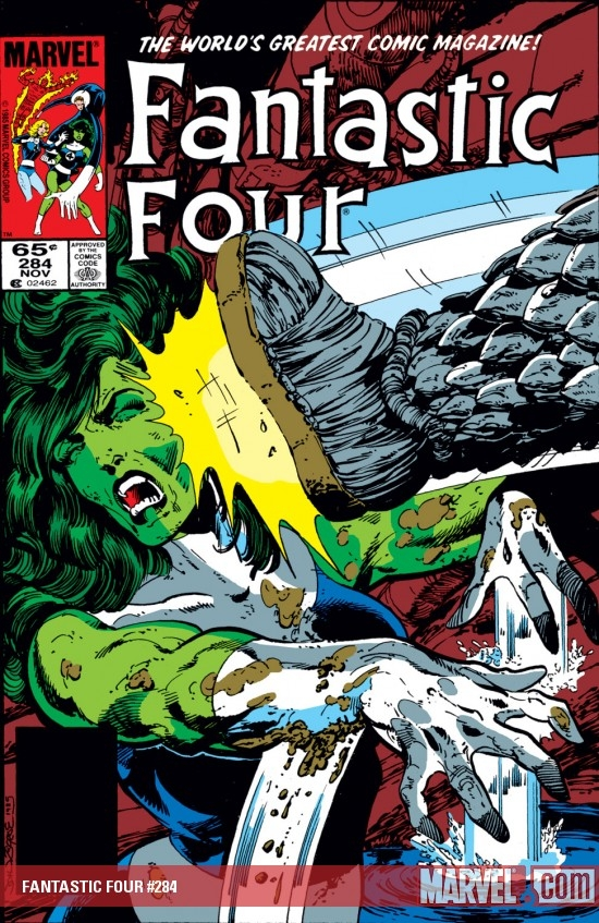 FANTASTIC FOUR #284