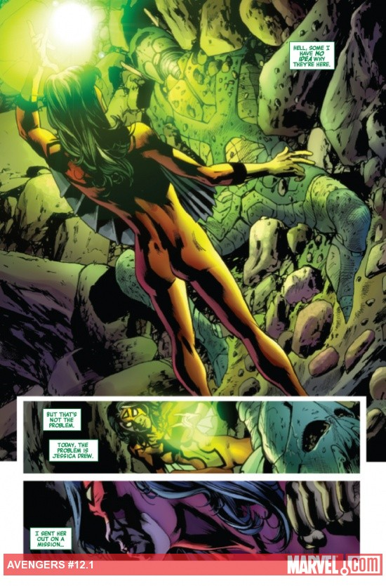 Avengers #12.1 preview art by Bryan Hitch