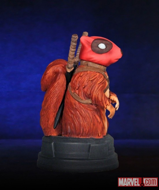 Squirrelpool statue from Gentle Giant, Comic-Con 2011 exclusive
