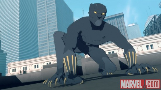 The Black Panther returns in Iron Man: Armored Adventures