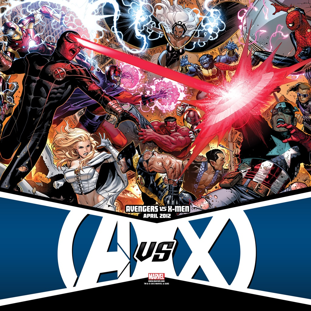 Avengers vs X-Men #1 iPad Wallpaper