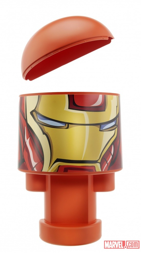 Bonka Zonks Iron Man head quarters