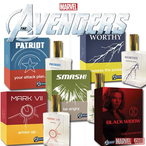 Marvel's The Avengers Cologne Available Now