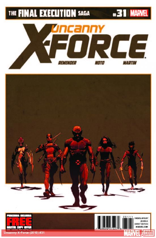 UNCANNY X-FORCE 31 (WITH DIGITAL CODE)