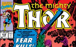 Thor (1966) #418 Cover