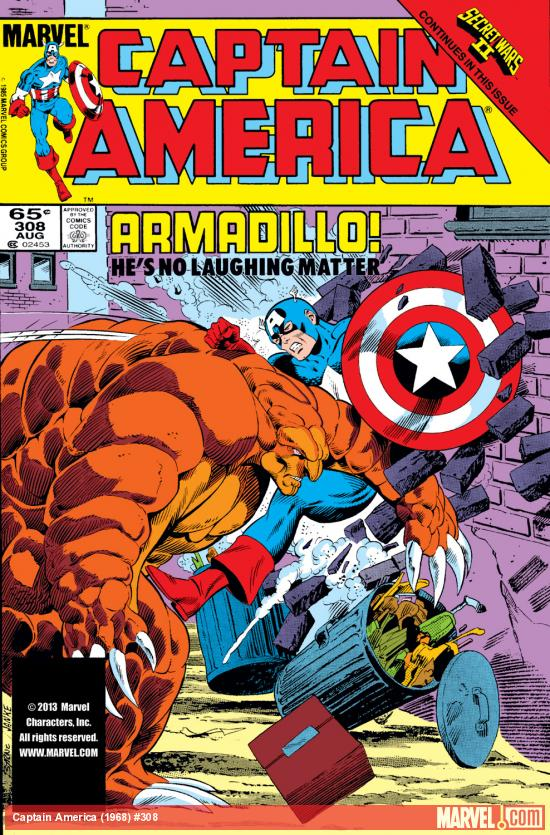 Captain America (1968) #308 Cover