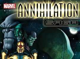 cover for Annihilation Saga