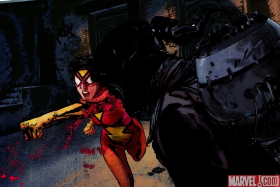 SPIDER-WOMAN MOTION COMIC Episode 4 Preview
