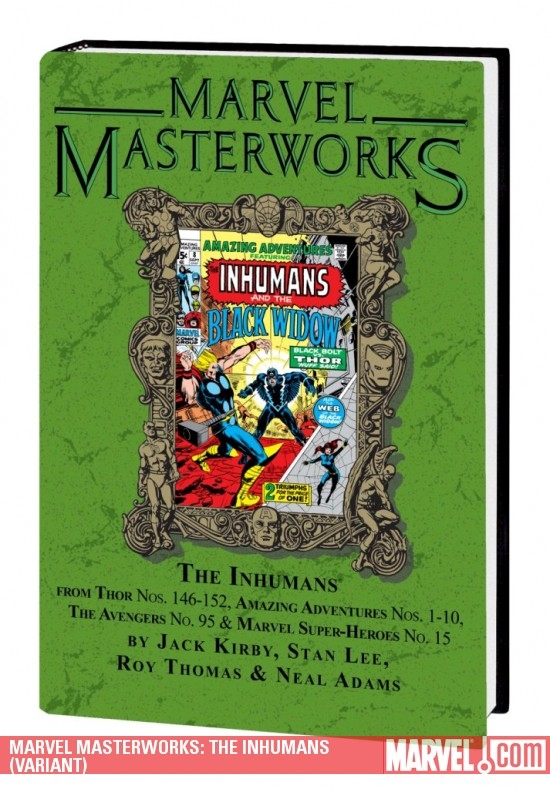 MARVEL MASTERWORKS: THE INHUMANS (VARIANT)