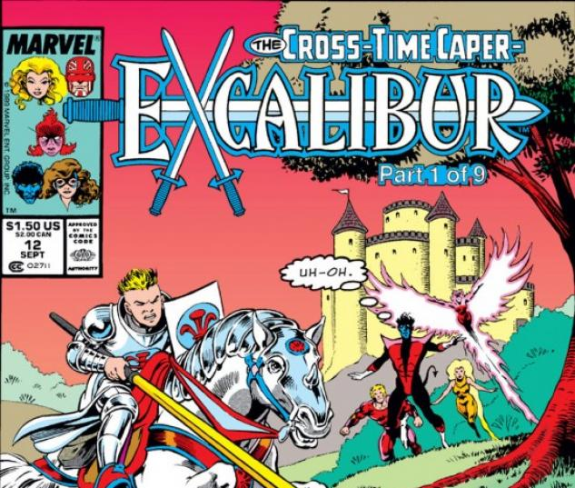 EXCALIBUR #12 COVER