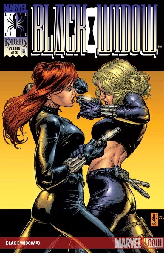 BLACK WIDOW #3 COVER