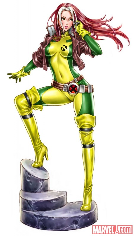 Rogue Bishoujo Statue Concept Art from Kotobukiya