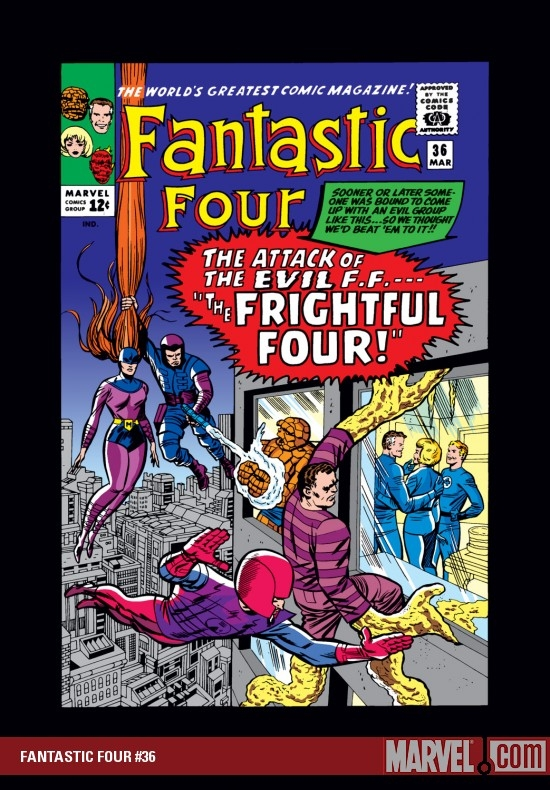 FANTASTIC FOUR #36