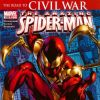 Spidey goes corporate, with his Stark-designed red and gold Spider-armor
