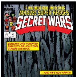 SECRET WARS #4