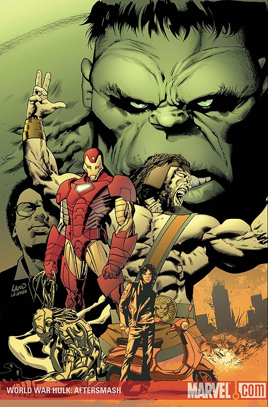 WORLD WAR HULK: AFTERSMASH #1