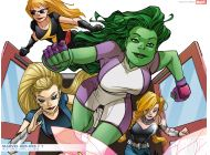 Marvel Her-Oes (2010) #1 Wallpaper