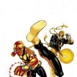 POWER MAN &amp; IRON FIST #1 (2011) cover