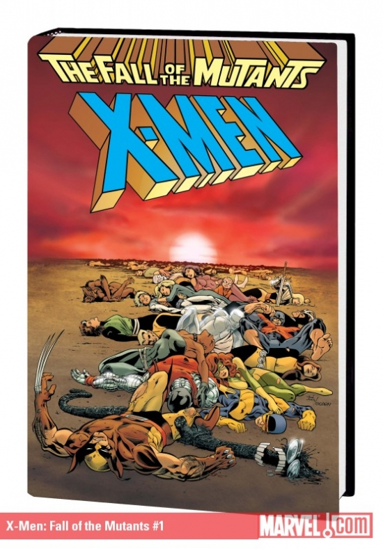 X-Men: Fall of the Mutants (Hardcover)