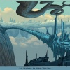 Background art of Jotunheim from Thor: Tales of Asgard