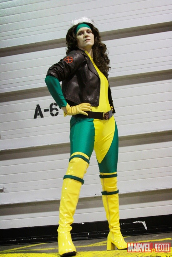 Marvel Costuming: Sara Zeman as Rogue