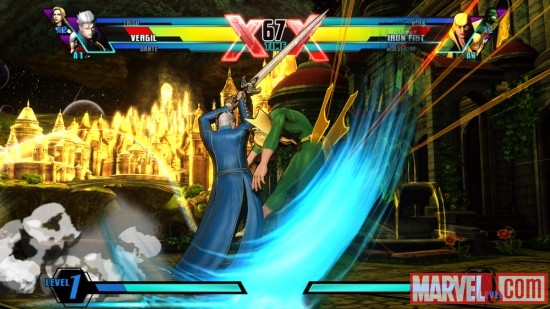 Ultimate Marvel vs. Capcom 3 Vergil Screenshot 6