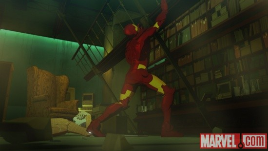 Screenshot from Iron Man: Armored Adventures Season 2, Episode 10