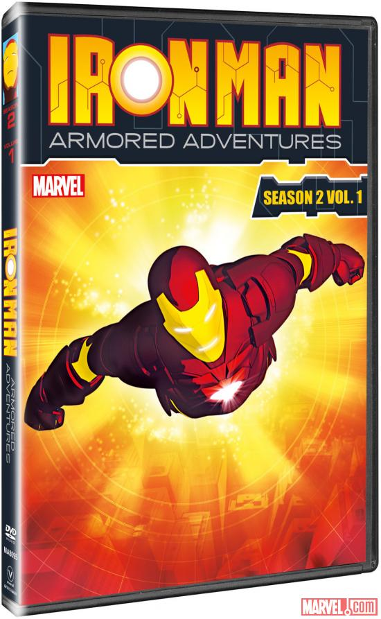 Iron Man: Armored Adventures Season 2, Vol. 1 box art
