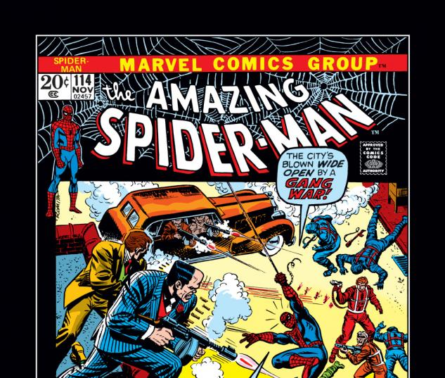 Amazing Spider-Man (1963) #114 Cover