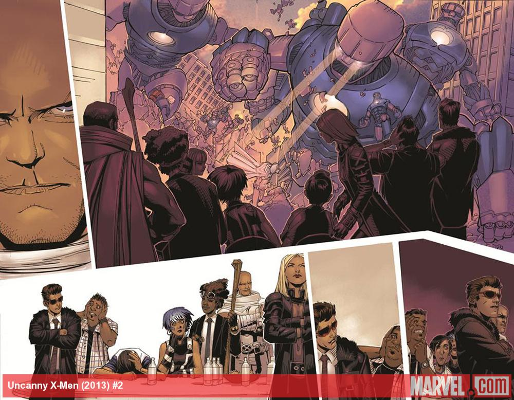 Uncanny X-Men (2013) #2 preview art by Chris Bachalo