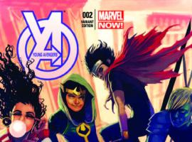 YOUNG AVENGERS 2 HANS VARIANT (NOW, 1 FOR 50)