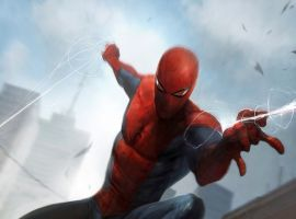 Spider-Man card art by Francesco Mattina from Marvel War of Heroes