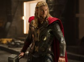 Chris Hemsworth stars as Thor in Marvel's Thor: The Dark World