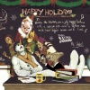 Happy Holidays and Merry X-Mas 2011 card from Mike Del Mundo