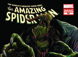 AMAZING SPIDER-MAN 691 LIZARD VARIANT (1 FOR 25, WITH DIGITAL CODE)