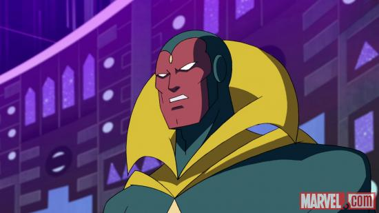 Screenshot of Vision from AEMH Season 2, Ep. 19