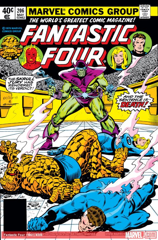 Fantastic Four (1961) #206 Cover