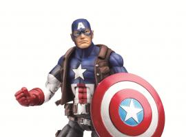 Ultimate Captain America figure by Hasbro