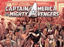 cover from Captain America & the Mighty Avengers: Last Days (2015)