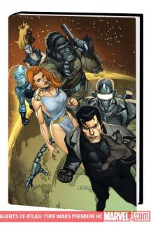 Agents of Atlas: Turf Wars (Hardcover)