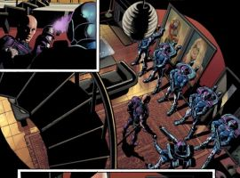 THUNDERBOLTS #119 interior art by Mike Deodato