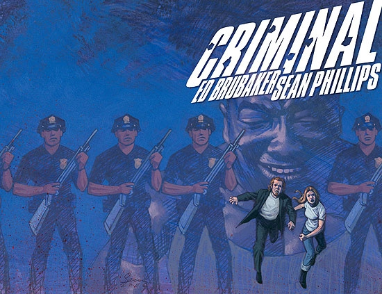 CRIMINAL (2008) #4 COVER