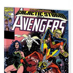 AVENGERS: GALACTIC STORM VOL.1 COVER